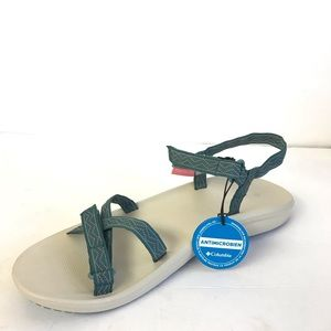 Columbia sandals wave train strappy 12 NWT